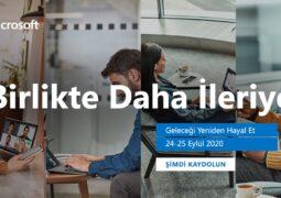 Microsoft Türkiye'nin Birlikte Daha İleriye Zirvesi yarın başlıyor