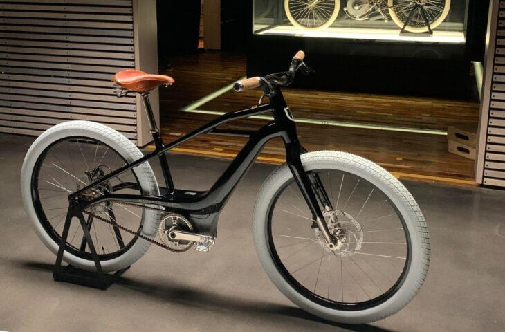 elektrikli Harley Davidson bisiklet
