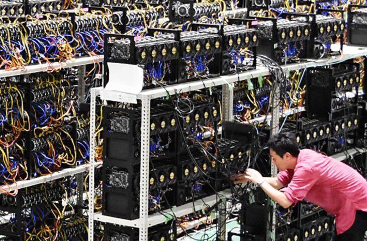 Bitcoin madenciliği yangın