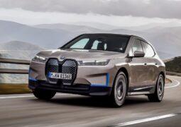 elektrikli BMW iX