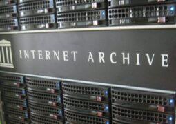 Internet Archive sayfa bilgilendirmeleri