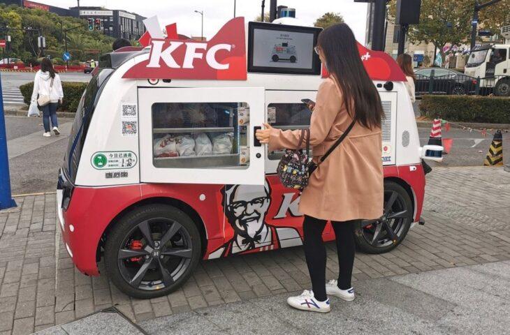 KFC otonom paket servisi