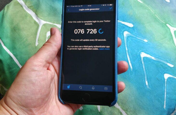 Tek kullanımlık SMS kodları
