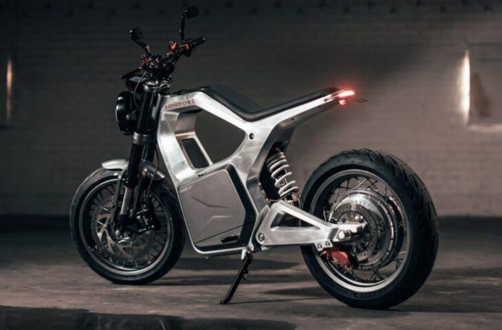 Elektrikli motosiklet Metacycle
