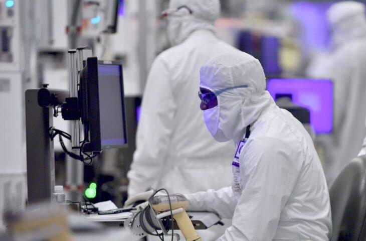Intel işlemci üretimi