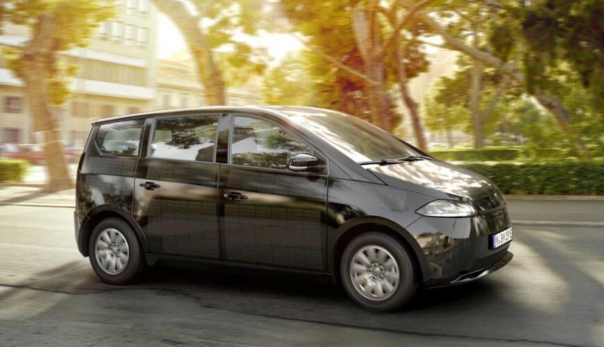 Sono Motors güneş enerjili otomobil