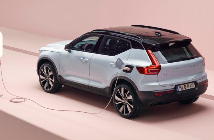 Volvo yeni elektrikli otomobil
