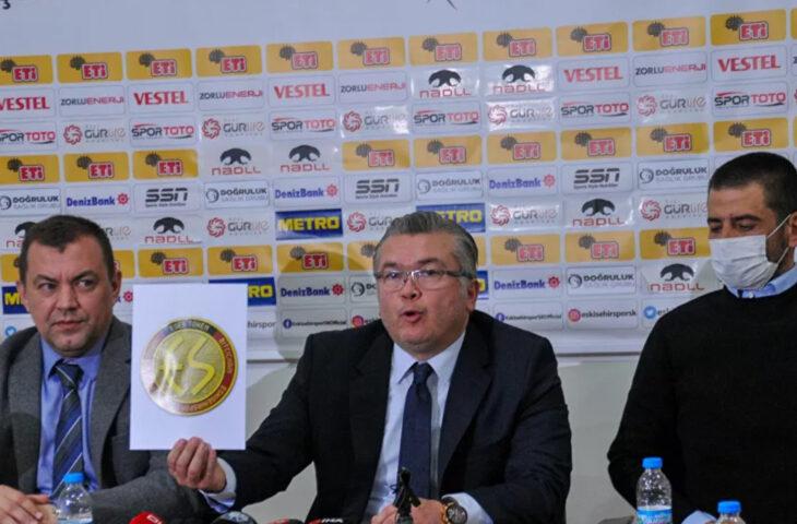 Eskişehirspor kripto para