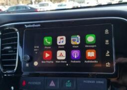 Mitsubishi CarPlay