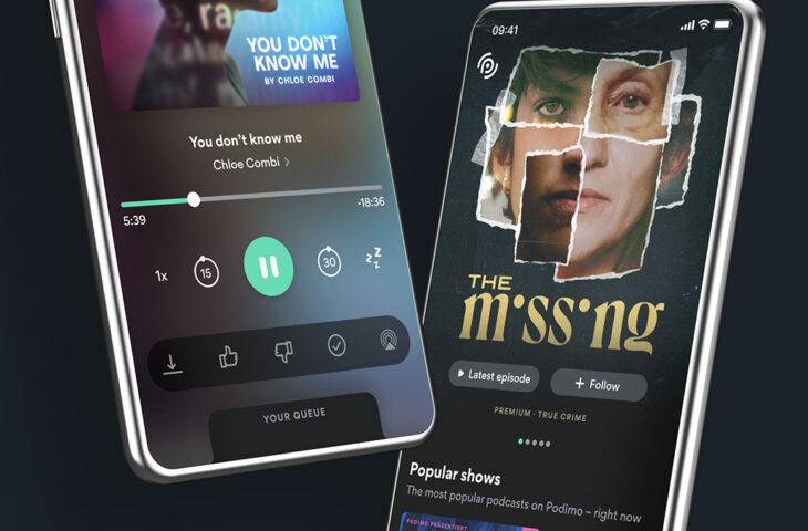 Podcast hizmeti Podimo