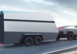 Tesla güneş enerjili karavan