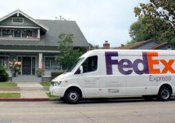 teslimat şirketi FedEx