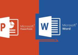 Word belgeleri PowerPoint