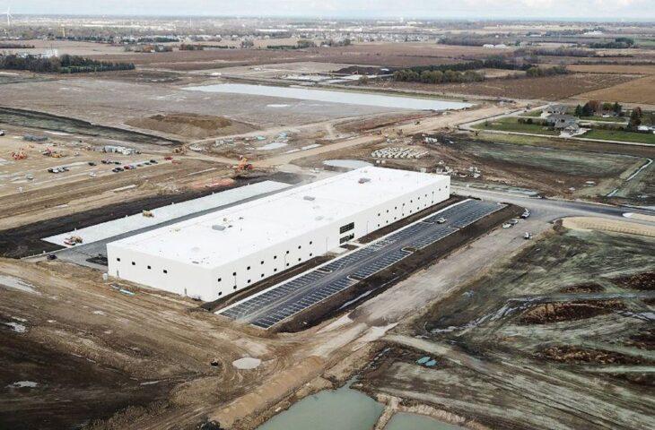 Foxconn fabrika