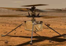 NASA'nın Mars helikopteri büyü tehlike atlattı
