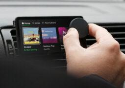 Spotify araç içi eğlence sistemi
