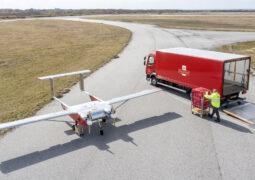 Dronelar ile posta hizmeti test ediliyor