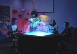Gerçek zamanlı 3D hologram