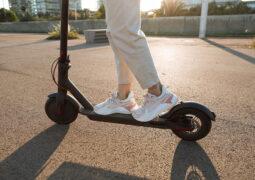 Londra elektrikli scooter