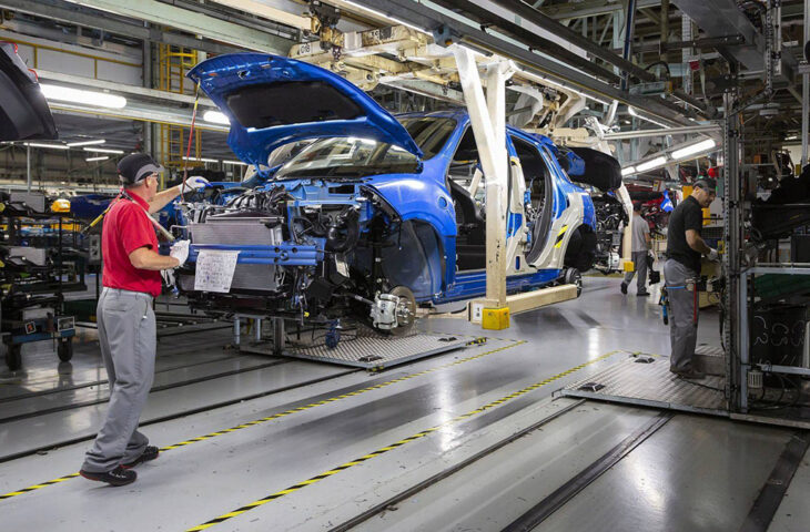 Nissan üretim