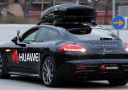 Huawei sürücüsüz otomobil