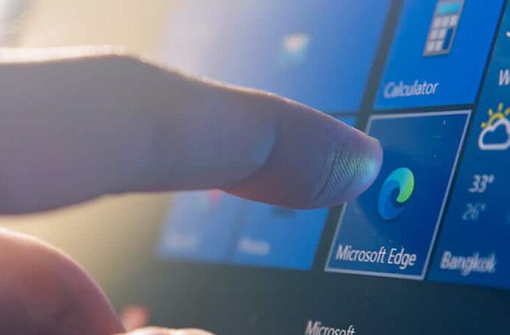 Microsoft Edge web sayfaları