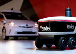 Yandex teslimat robotları