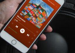 Spotify iOS uygulaması