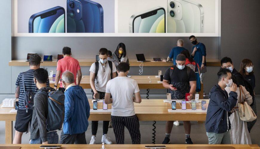 Apple aşılanmamış çalışanlar
