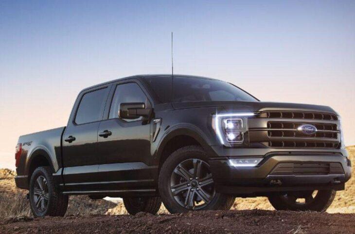 Ford elektrikli kamyonet