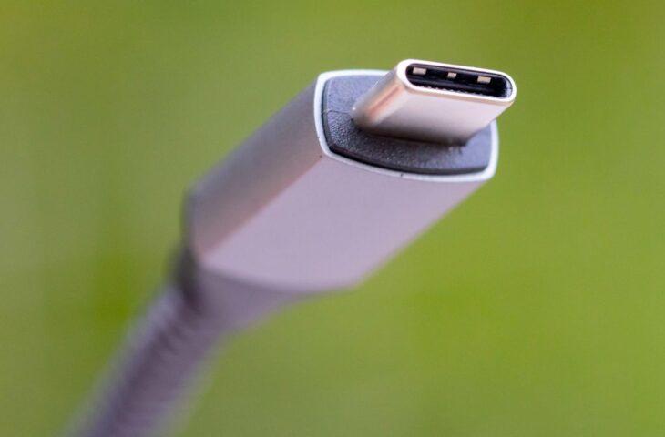 USB-C elektronik atık