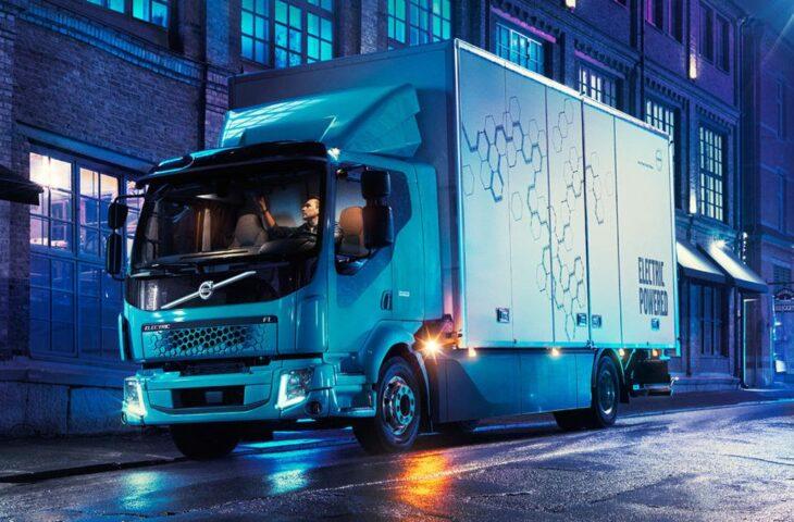 Volta Trucks elektrikli dağıtım