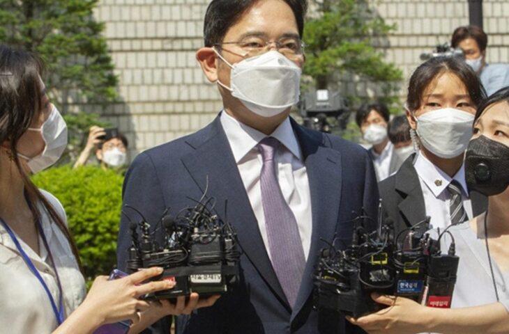 Samsung Başkanı yasa dışı madde